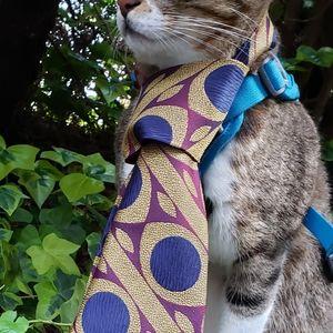 60's Yves Saint Laurent Haute Couture Tie